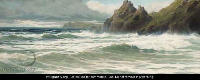 The Devon coast - Charles Hamilton Smith