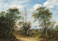 A view near Chiddington in Kent - Charlotte Nasmyth