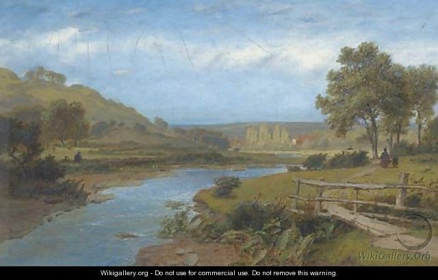 The walk home by the river; and Angling on the river - Charles Marshall