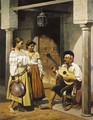 Andalucian musicians - Charles Louis Porion