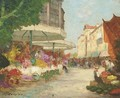 The flower market - Charles Cousins