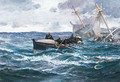 The Rescue - Charles Napier Hemy