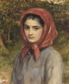 A study of a gipsy - Charles Sillem Lidderdale