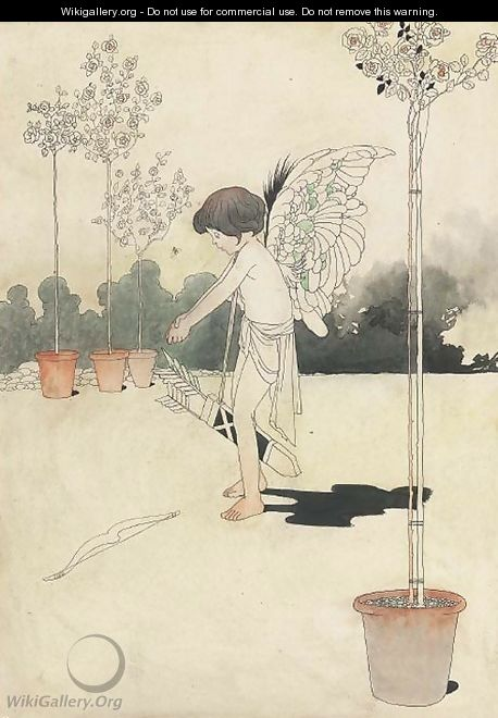 The winged archer - Charles Robinson
