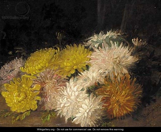 Chrysanthemums - Charles Gregory
