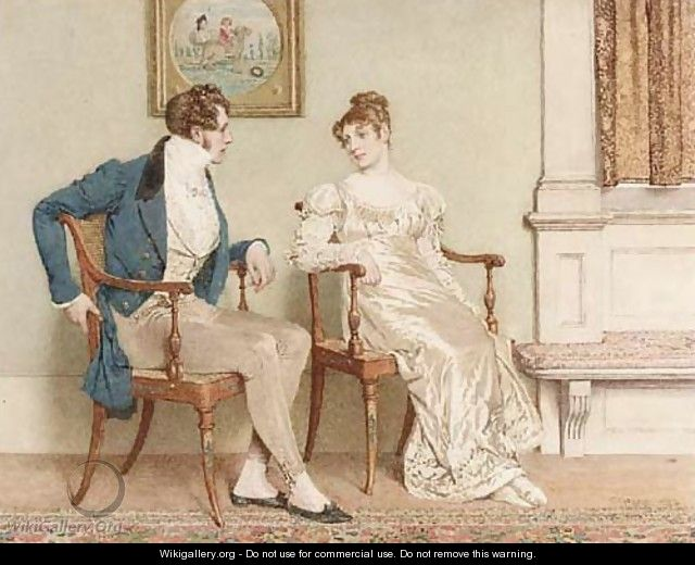 The Courtship - Charles Green