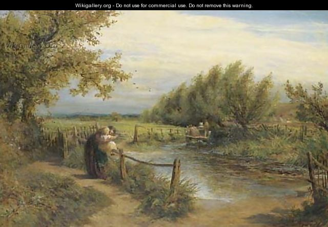 The Way to the Mill - Charles James Lewis