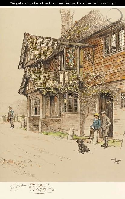 coloured lithographs , signed in pencil, printed and published by Eyre and Spottiswood Ltd. - Cecil Charles Aldin