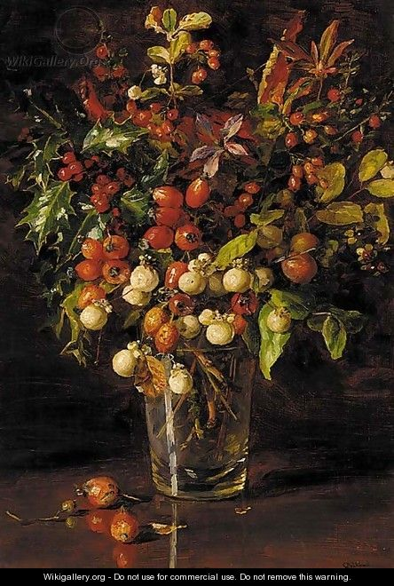 Autumn berries - Catherine M. Wood
