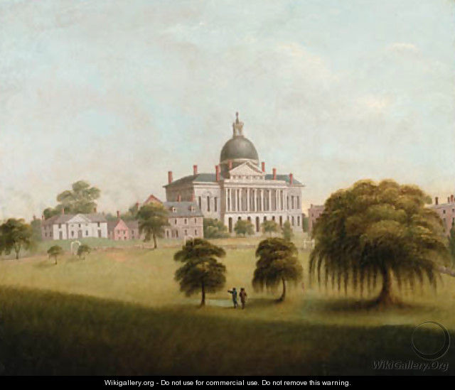 View of the State House - Catherine Davis