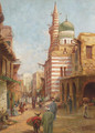 The Mosque of Aytmish al-Bagazi, Old Cairo - Adrian Ludwig Richter