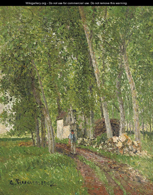 Sous-bois AAA'A  Moret - Camille Pissarro