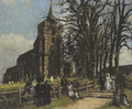 A wedding at Stebbing - Bernard Sickert