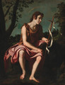 Saint John the Baptist in the wilderness - Florentine School