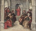Christ amongst the Doctors - Florentine School
