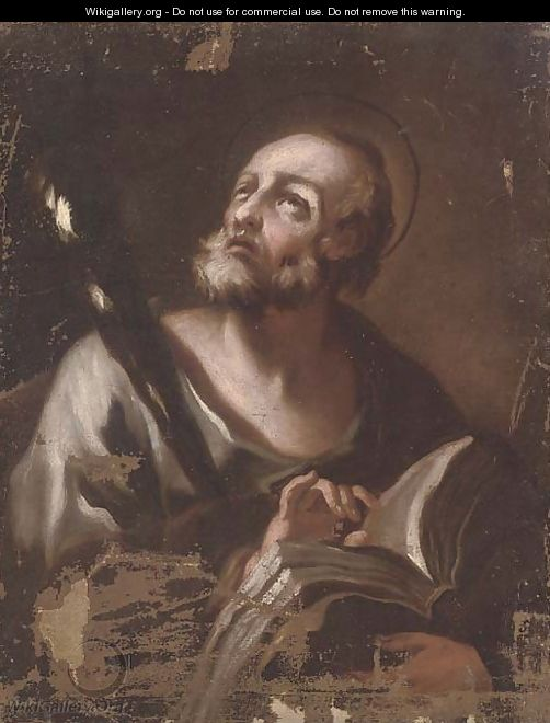 Saint Jerome in his Study - (after) Luca Giordano