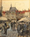 A busy market, The Hague - Floris Arntzenius