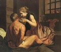 Roman Charity - (after) Abraham Janssens Van Nuyssen