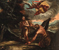 The Expulsion of Adam and Eve - (after) Abraham Bloemaert