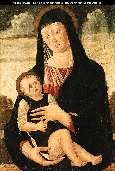 The Madonna and Child - Ferrarese School