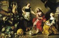 Christ in the House of Mary and Martha - Flemish School