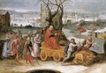 An allegory of the month of December - Flemish School