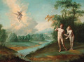 The Expulsion of Adam and Eve from the Garden of Eden - Flemish School