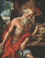 The Penitent Saint Jerome - Flemish School