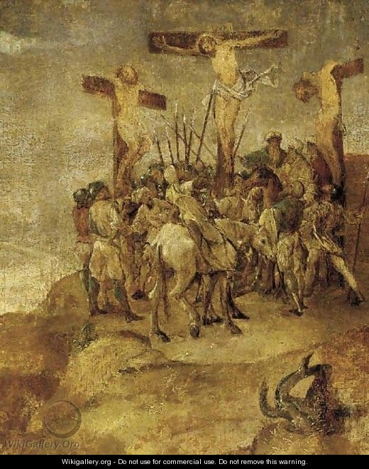 Christ on the Cross - Flemish School