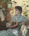 A tune on the lute - Federico Andreotti