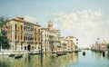 On the Grand Canal, Venice - Federico del Campo