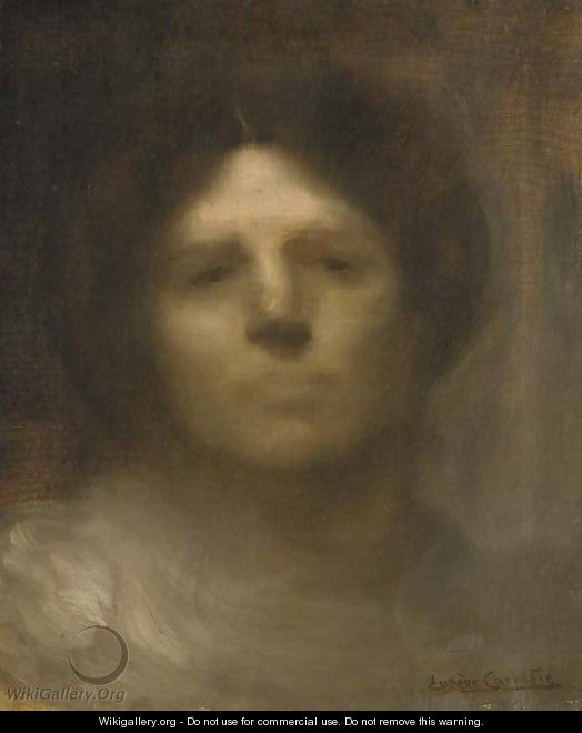 Portrait of Madame Carrier - Eugene Carriere