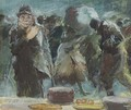 The Cafe - Everett Shinn
