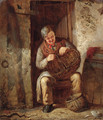 The Basket Mender - Erskine Nicol