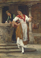 Die Wassertragerin (The Water Carrier) - Eugene de Blaas