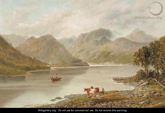Crummock Water, Cumbria - English School