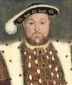 Portrait of King Henry VIII - English School