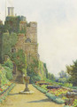 The Gun Terrace, Berkeley Castle, Gloucestershire - Ernest Arthur Rowe