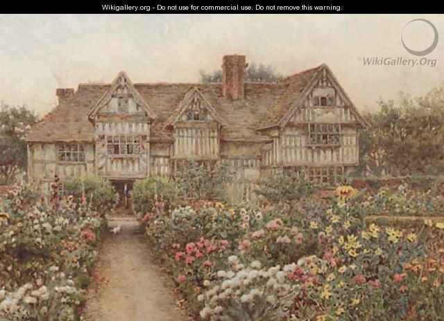 Enjoyable A Formal Garden Before An Elizabethan Manor House Thought Download Free Architecture Designs Rallybritishbridgeorg