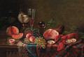 A table set for a feast - Ernst Czernotzky