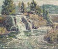 Waterfall - Ernest Lawson