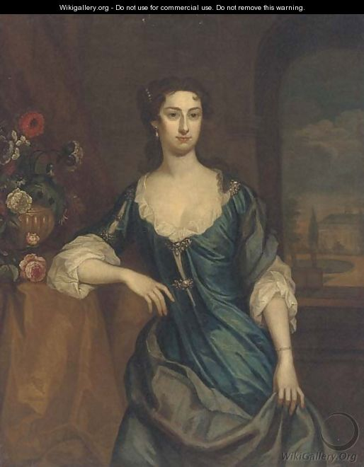 Portrait of Mary Frederick, Mrs Alexander Hume - English School
