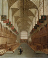 Interior of St. George's Chapel, Windsor - English School