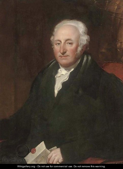 Portrait of Sir Boris Gutteridge - English School