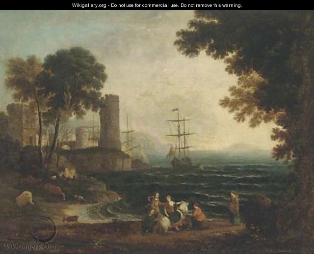 Europa and the Bull - (after) Claude Lorrain