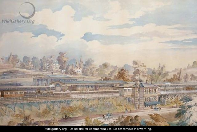 The Victorian railway station - English School