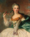 Portrait of a young lady - (after) Jean-Marc Nattier
