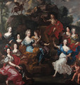Apollo and the nine Muses - (after) Jacob Van Loo