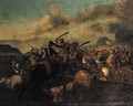 A cavalry skirmish - Pierre Bourgogne