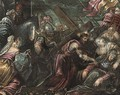 Christ carrying the Cross - (after) Jacopo Tintoretto (Robusti)